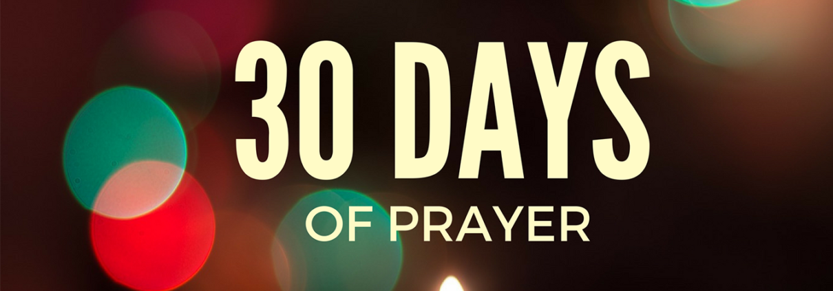 Transforming Mission 30 Days of Prayer Image