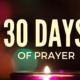 Transforming Mission 30 Days of Prayer Image