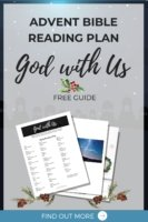 Adent Scripture Bible Reading Plan