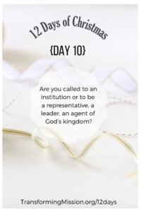 Day 10 Calling Transforming Mission LeaderCast