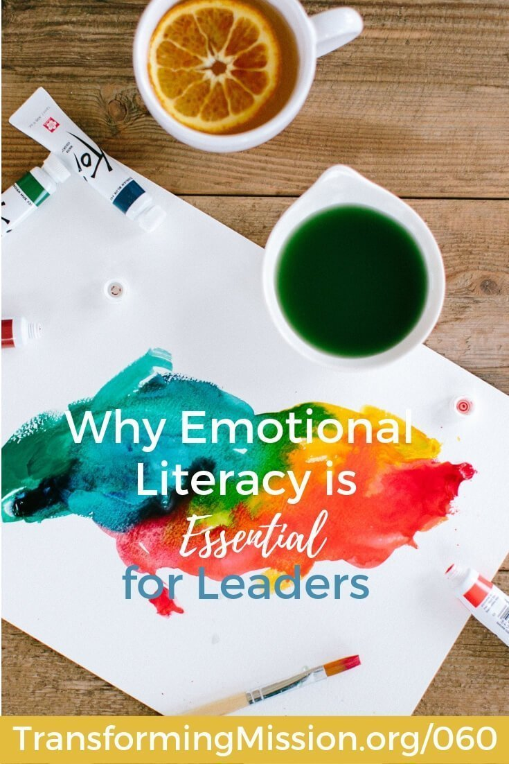 LeaderCast explores ideas and resources to help you lead a movement of Jesus followers. In this episode, explore the importance of Emotional Literacy: what is it, why is it important, and what examples can we offer from our lives and leadership to bring emotional literacy to life. #emotionalliteracy #ei #emotionalintelligence #church #faith #jesus #transformingmission Transforming Mission