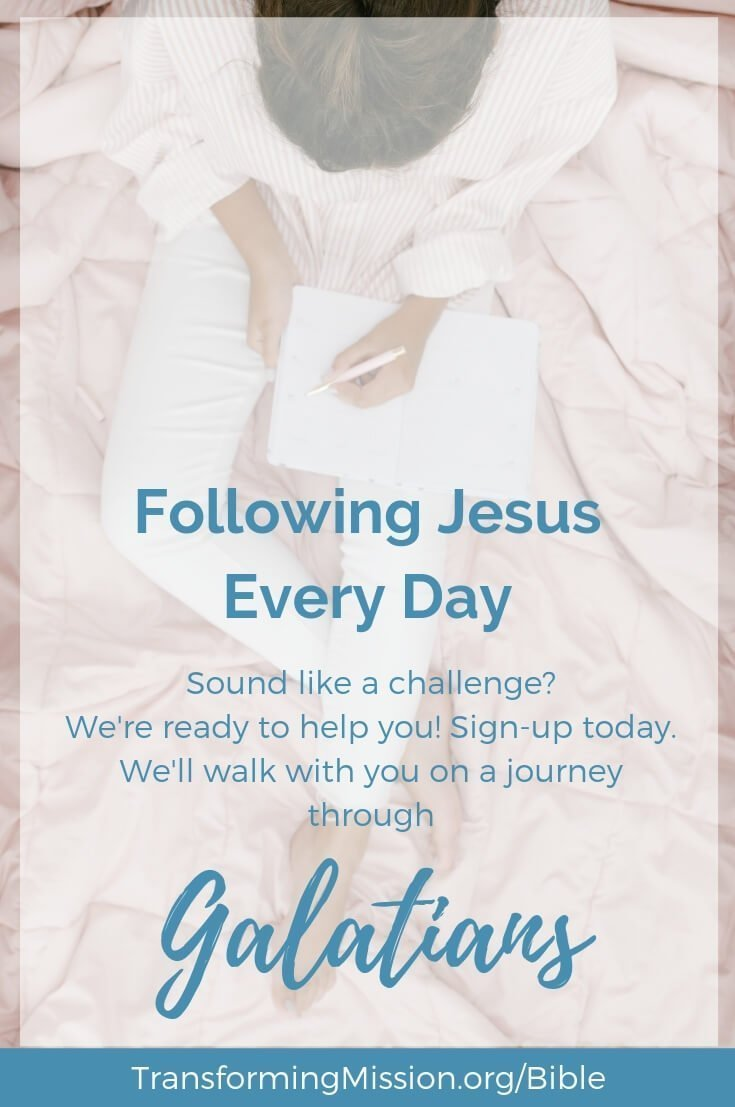 FOllowing Jesus Every Day Transforming Mission