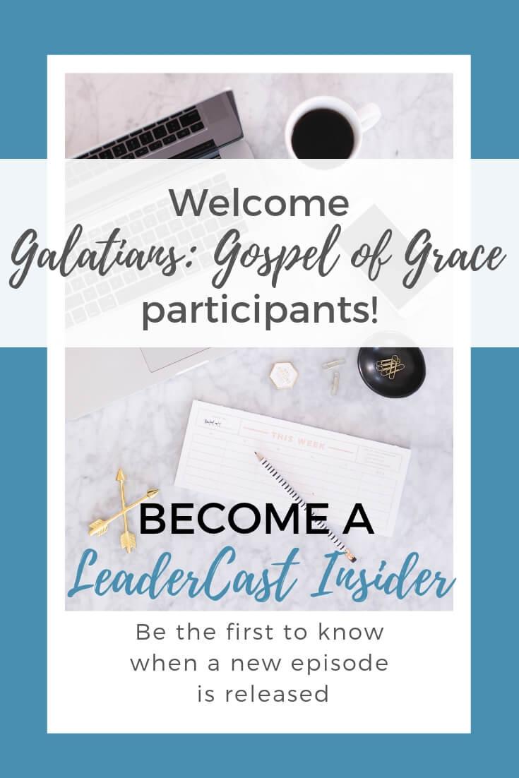 LeaderCast Invitation Transforming Mission