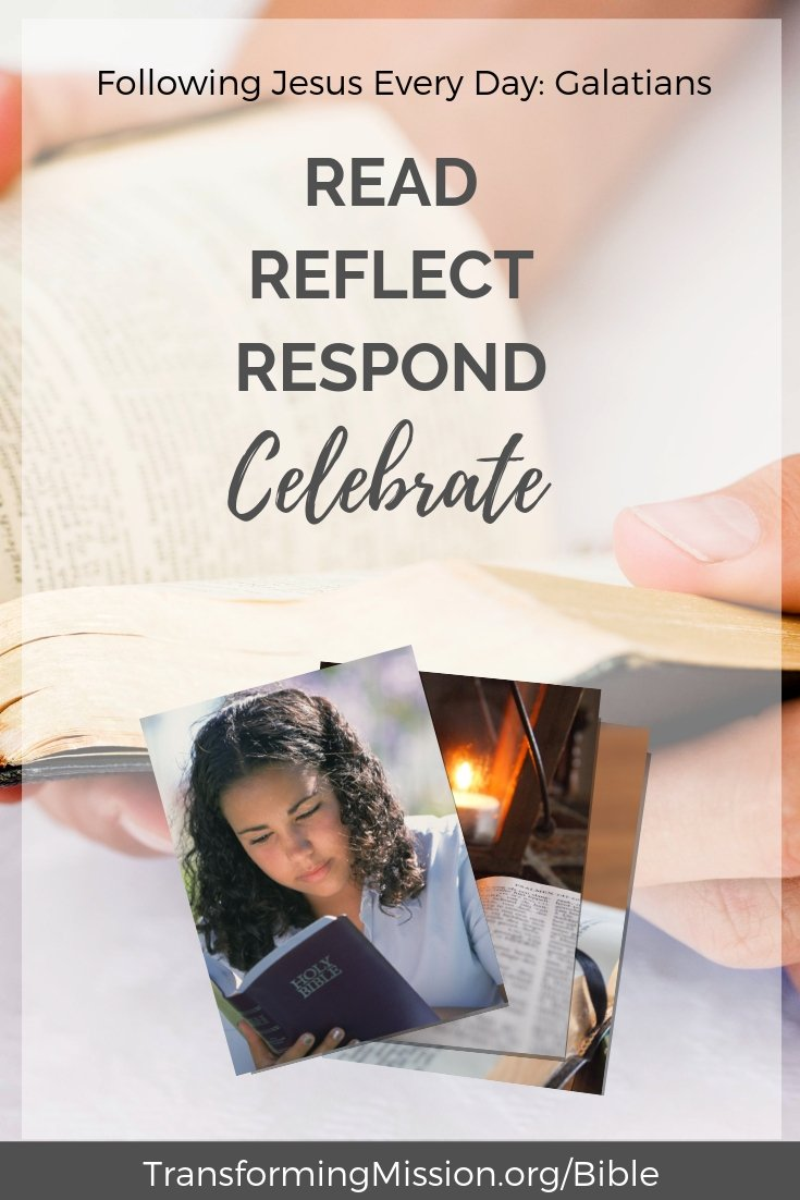 Read Reflect Respond Celebrate Transforming Mission