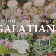 Galatians 4 Transforming Mission