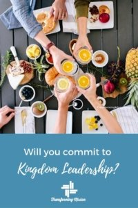 Invitation to Kingdom Leadership with Transforming Mission