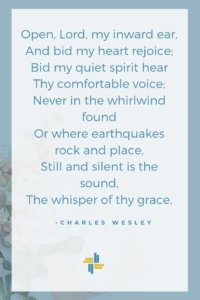Charles Wesley on Listening Transforming Mission