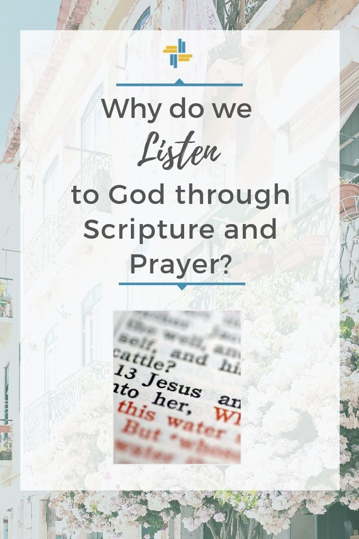 Listening to God through Scripture, Prayer and Community with Transforming Mission