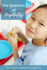 The Question of Hospitality Transforming Mission