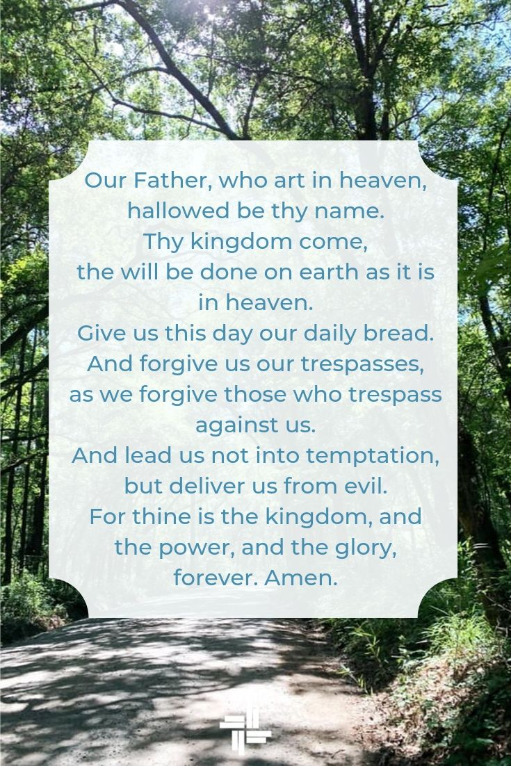 The Lord's Prayer Transforming Mission