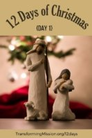 12 Days of Christmas with transforming mission
