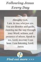 Prayer to Follow Jesus Every Day