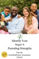 Identify the super 6 strengths of parents with Transforming Mission