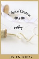 The 12 Days of Christmas - Day 10