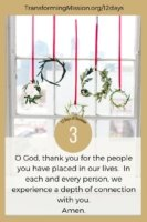 The 12 Days of Christmas - Day 3 Transforming Mission