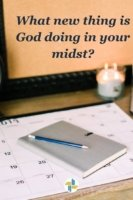 What new thing is God doing in your midst? with Transforming Mission