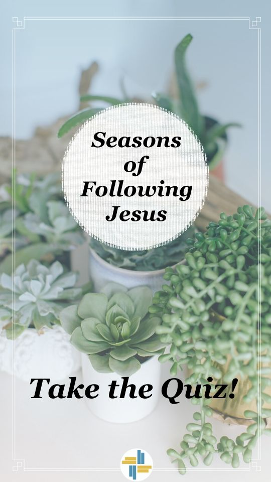 Seasons of Following Jesus with Transforming Mission