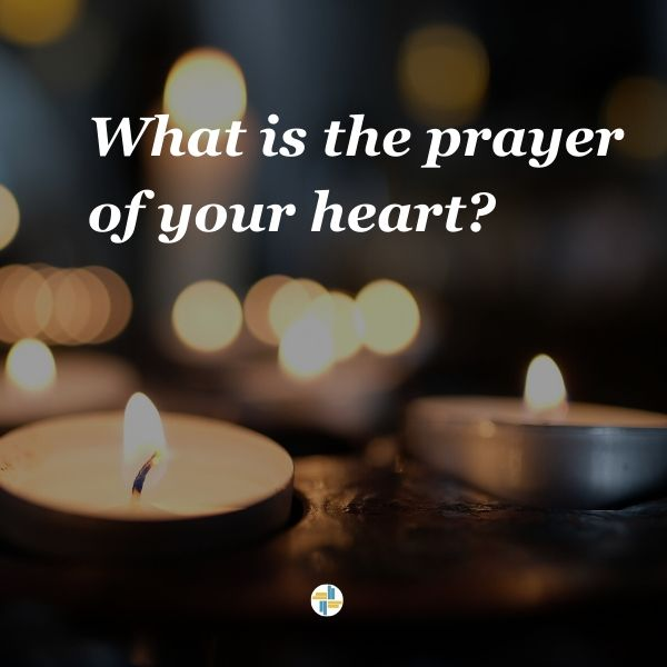 What is the prayer of your heart? Transforming Mission