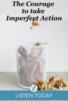 The Courage to Take Imperfect Action Podcast Episode Transforming MIssoin
