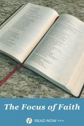 The FOcus of Faith with Transforming Mission Bible Picture