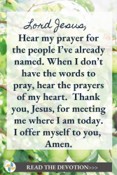 Prayer from Jeremiah 17 God is with Us