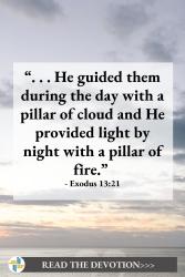 God is with us Exodus 13