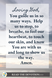Prayer to Remember God is with Us Exodus 13