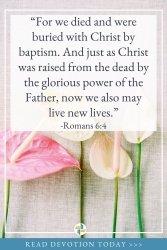 Romans 6 - God is with Us Devotion