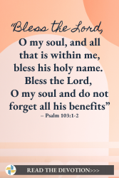 psalm 103 God is with us