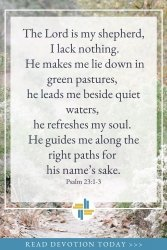 Psalm 23 - God is with Us