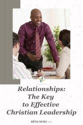 Transforming Mission 5 Keys to Effective Christian Leadership